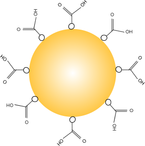 Gold Nanoparticles Nanopartz Carboxylic Acid